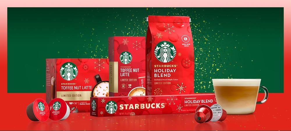 Starbucks® at Home星巴克®節日限定系列/雀巢/星巴克/聖誕節/台灣