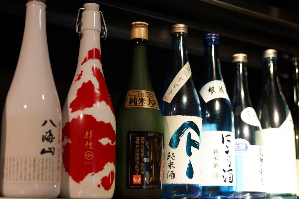 多款日本酒、威士忌、葡萄酒/山男 Yamasan/日式居酒屋/美食/台北/台灣
