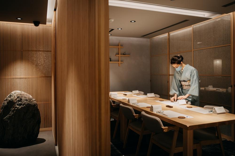 餐廳內部/月夜岩 蟹懷石/日式料理/美食/台北/台灣