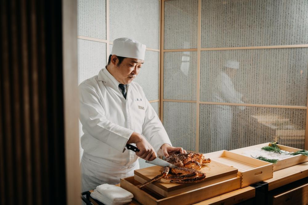 主廚/月夜岩 蟹懷石/日式料理/美食/台北/台灣