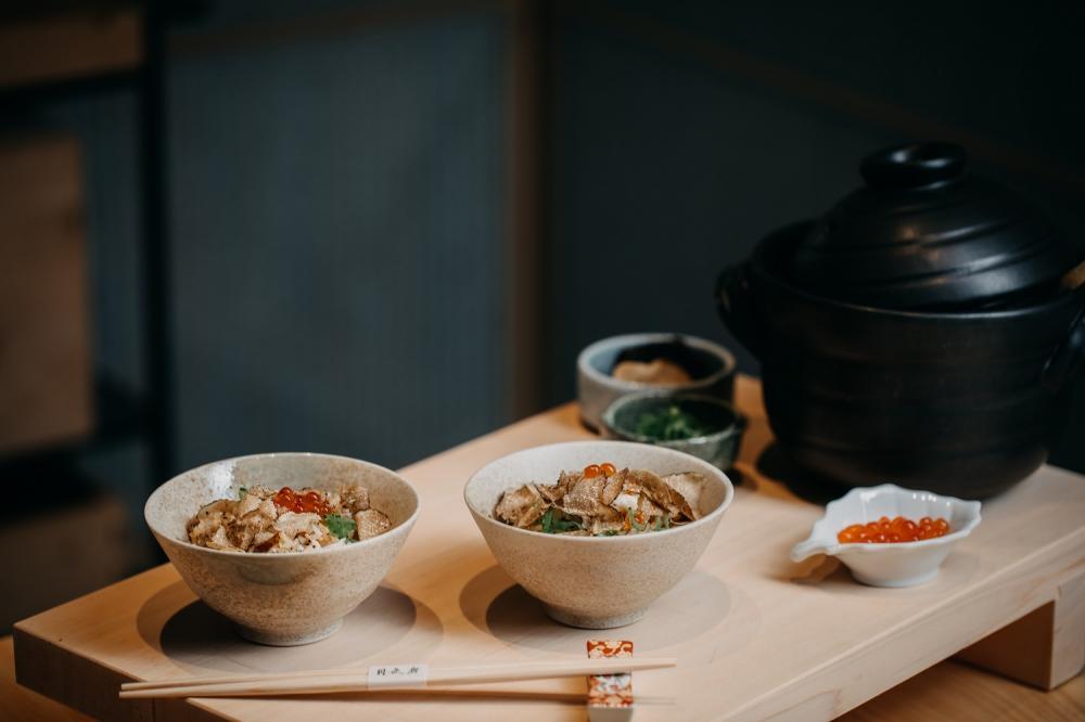 活體鱈場蟹黑松露土鍋飯/月夜岩 蟹懷石/日式料理/美食/台北/台灣
