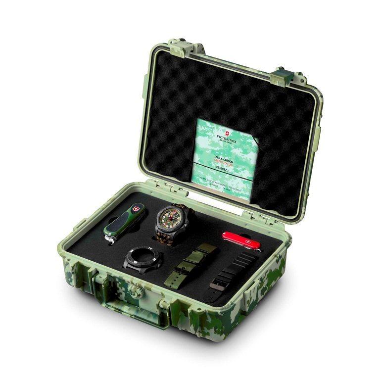 迷彩用品/I.N.O.X. Carbon LE/森林綠系列/VICTORINOX/戶外配備/VICT