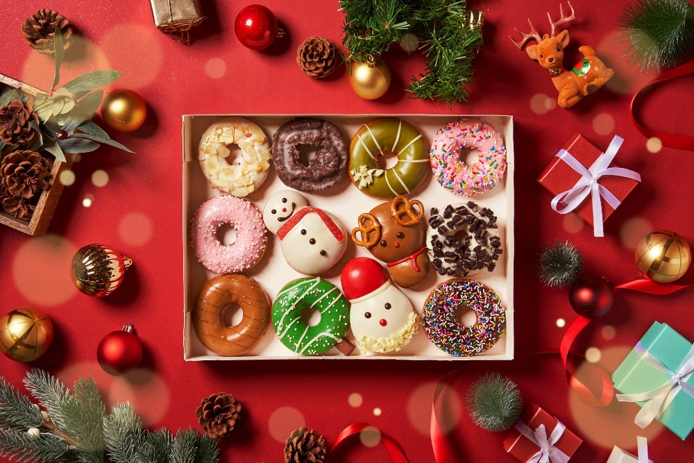 Krispy Kreme/甜甜圈/耶誕禮盒/聖誕節/台灣