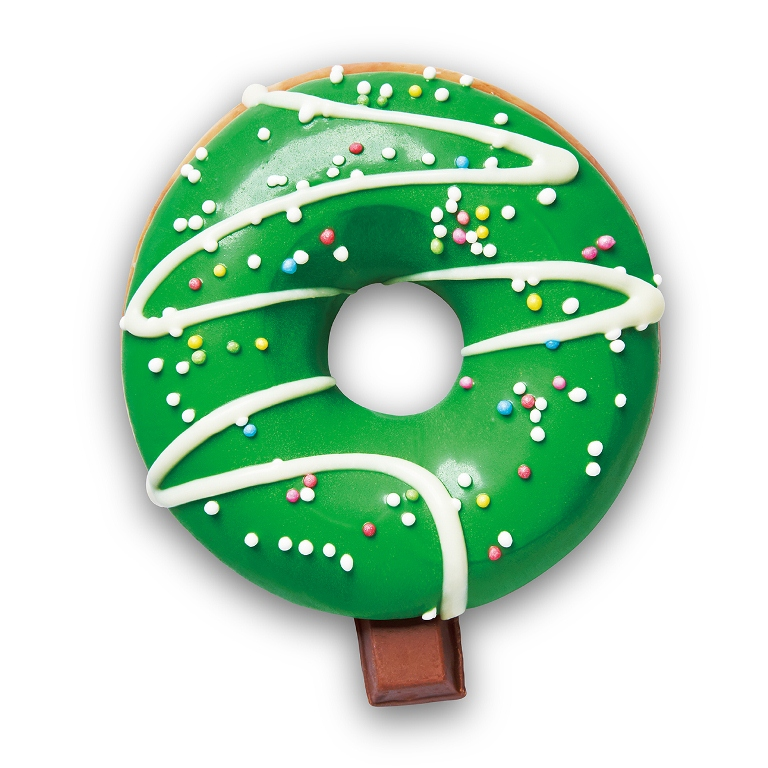聖誕樹/Krispy Kreme/甜甜圈/耶誕禮盒/聖誕節/台灣