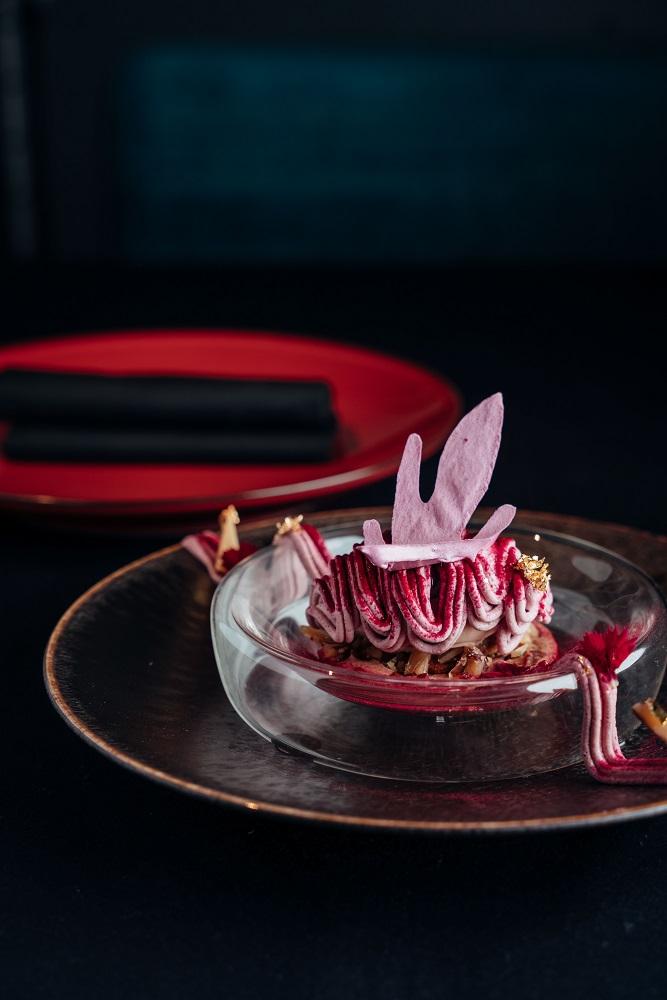 炭燒栗子‧黑醋栗‧牛奶巧克力/de nuit/新舊結合/法式料理/美食/台北/台灣