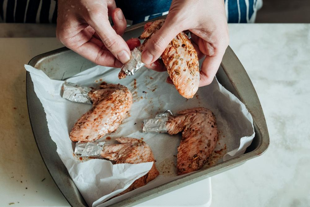 香料烤雞翅/下酒菜/美食/台灣