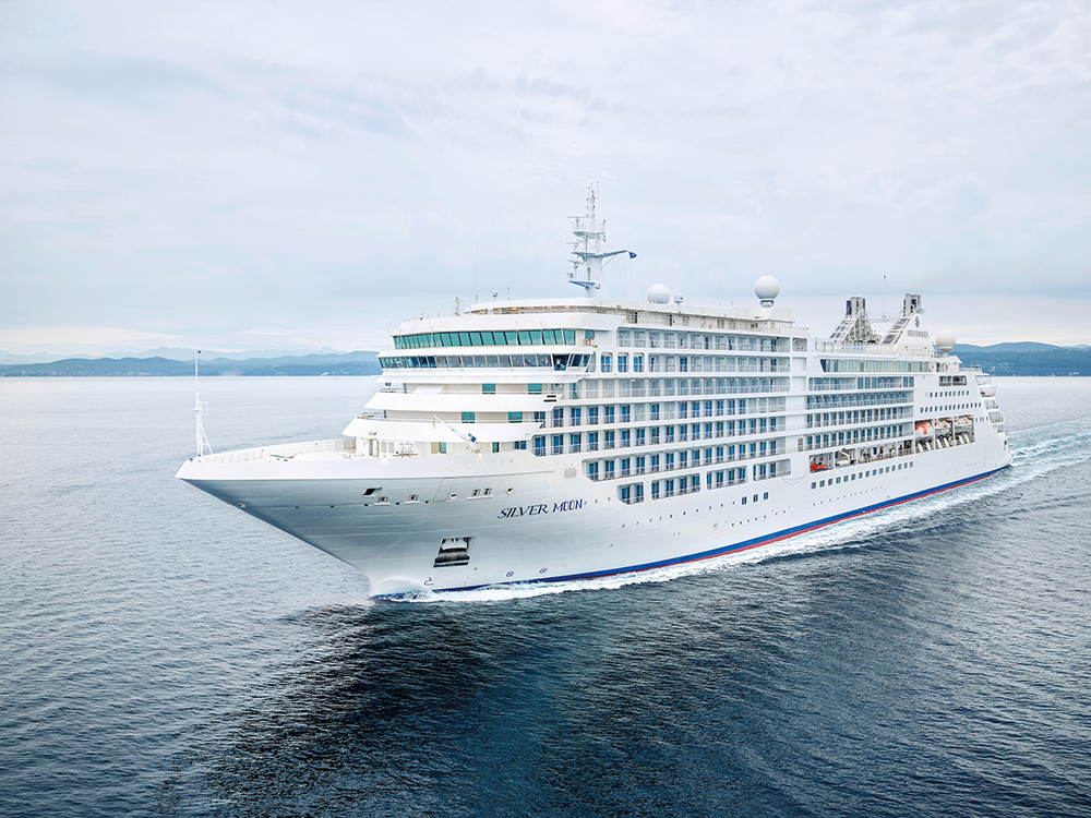 外觀/銀海遊輪/Silversea Cruises/Silver Moon