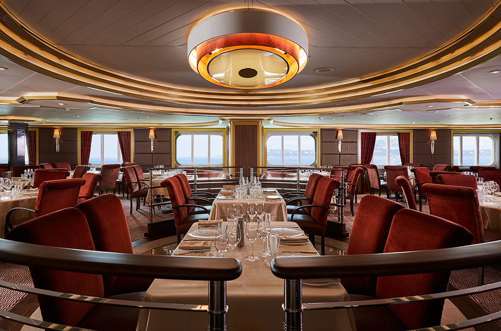 餐廳/銀海遊輪/Silversea Cruises/Silver Moon