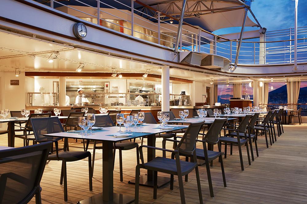 戶外座位區/銀海遊輪/Silversea Cruises/Silver Moon
