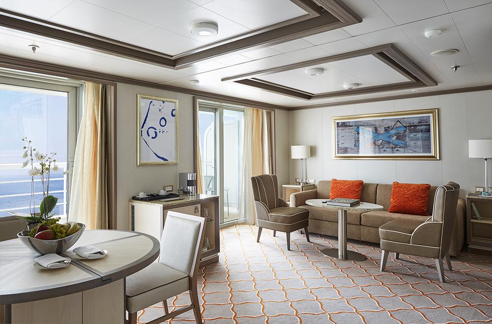 套房/銀海遊輪/Silversea Cruises/Silver Moon