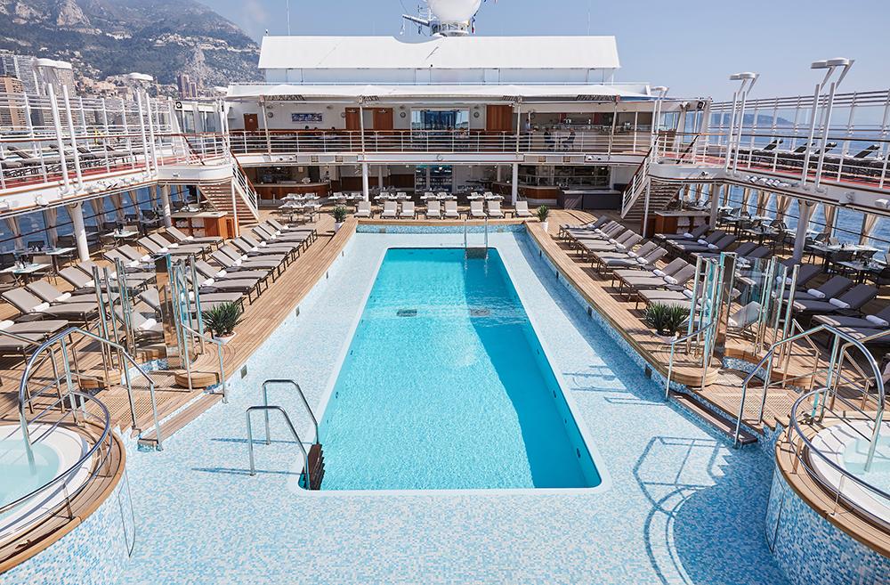 游泳池/銀海遊輪/Silversea Cruises/Silver Moon