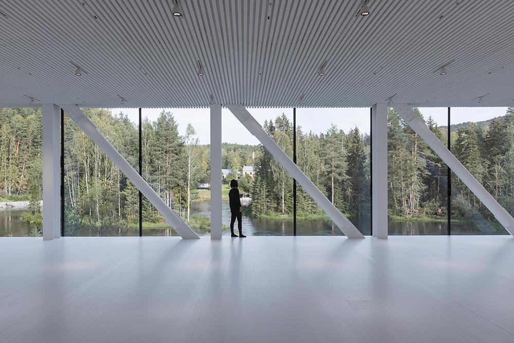 河景玻璃牆/內部/The Twist/美術館/挪威