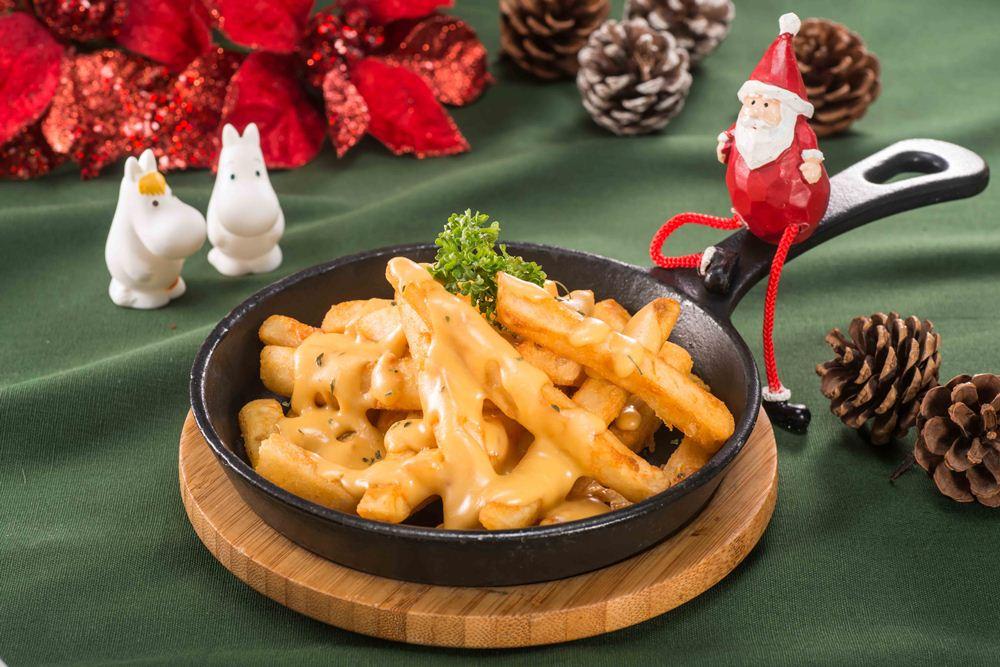 起司薯條/嚕嚕米聖誕雙人分享餐/嚕嚕米主題餐廳/信義區/台北/台灣