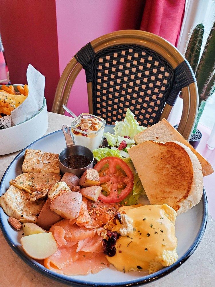 這個超好吃Der/燻鮭魚早午餐拼盤/Meat up/萬華區/台北