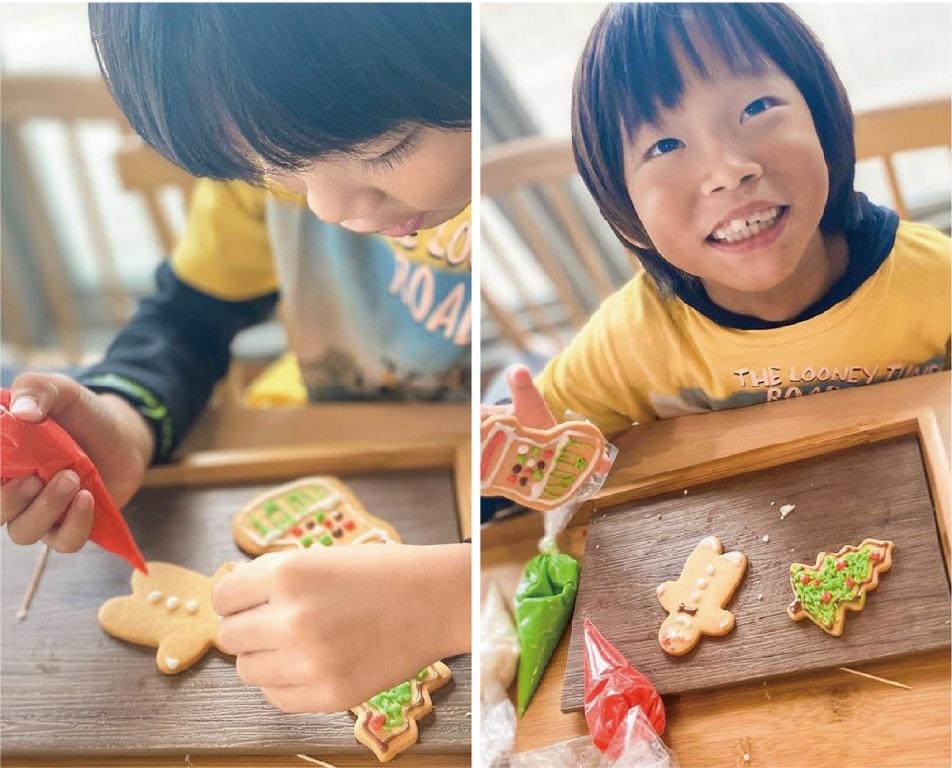 童趣耶誕糖霜餅乾DIY/平安京茶事/綠舞飯店/宜蘭/台灣