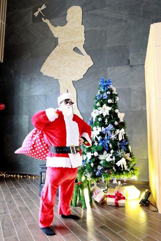 聖誕老公公來敲門/平安京茶事/綠舞飯店/宜蘭/台灣
