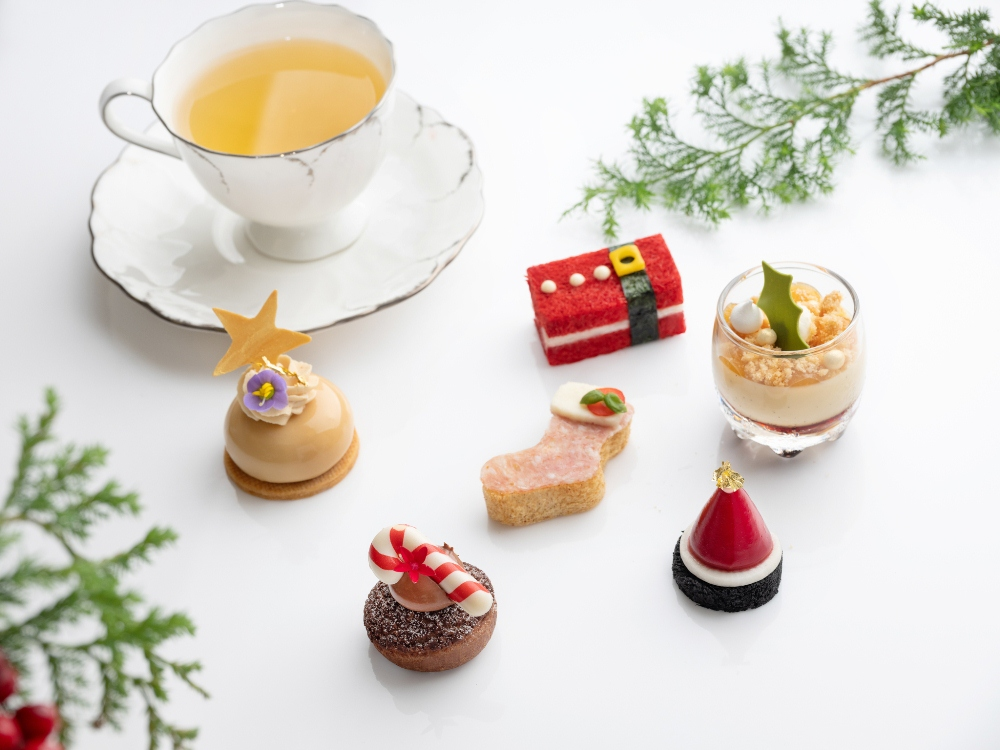 耶誕繽紛下午茶/期間限定/餐廳/青隅/台北文華東方酒店/台灣