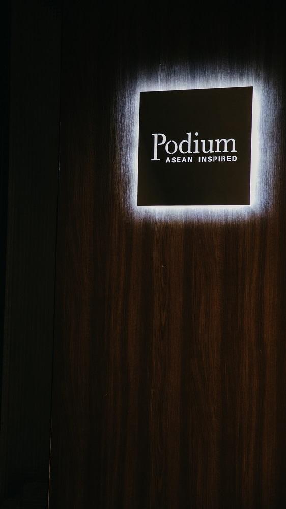 招牌/Podium/在地食材/Fine Dinning/私廚餐廳/美食/台北/台灣