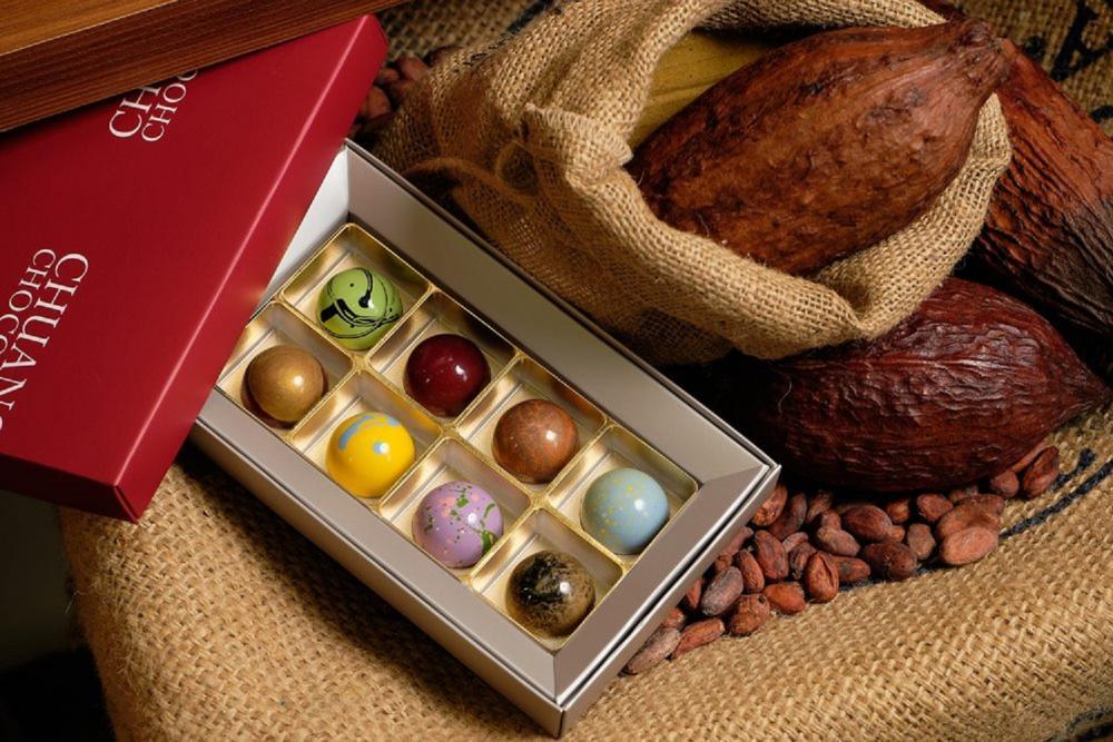 水晶球巧克力/莊式巧克力/甜點/美食/新北/台灣