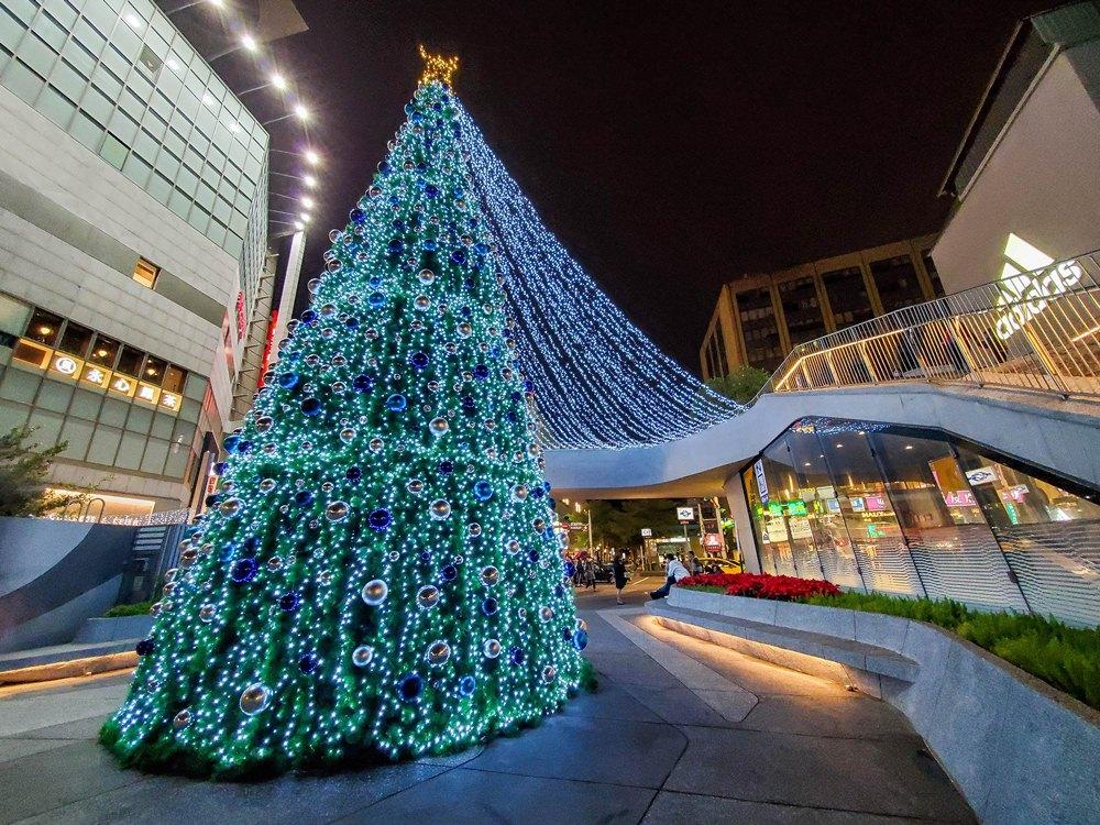耶誕樹/閃耀心中山/聖誕節/心中山線形公園/台北/台灣
