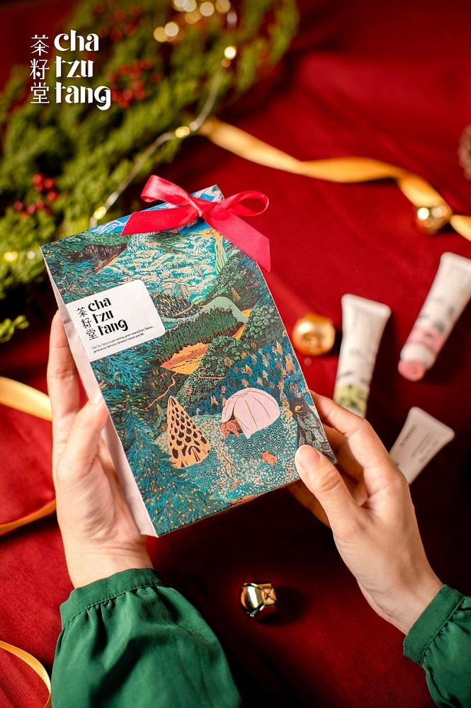 護手霜/山林旅行組/耶誕商品/茶籽堂/台灣