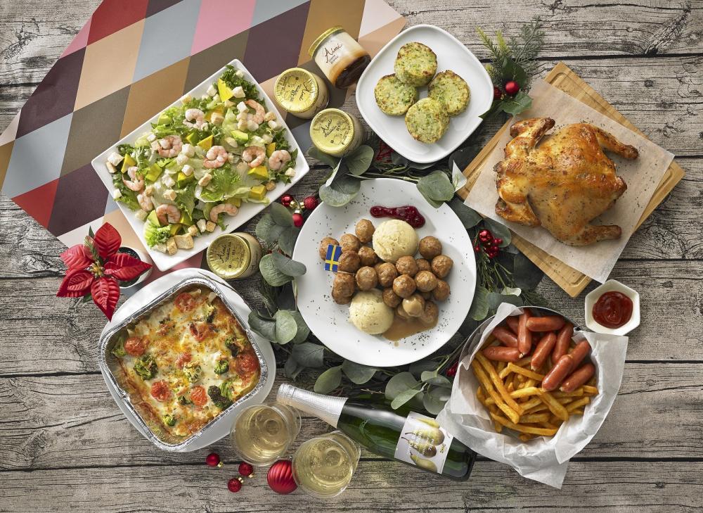 瑞典傳統聖誕餐/經典美味/美食/IKEA/台灣