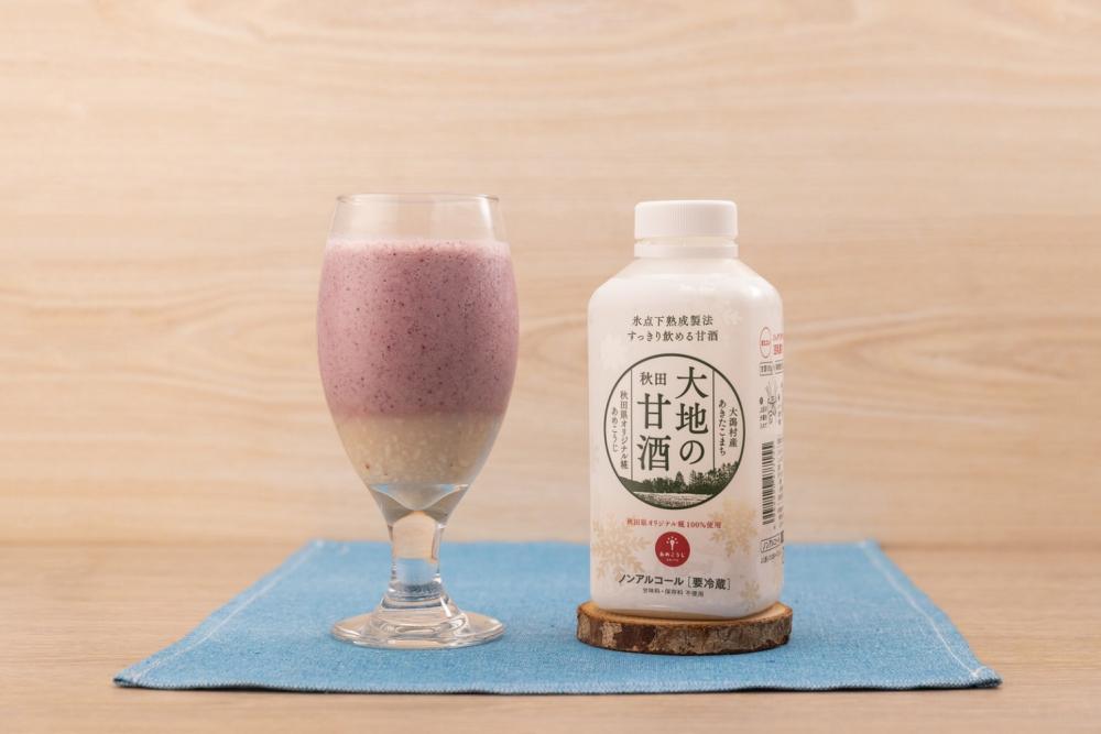 甘麴莓果奶昔/秋田料理/發酵食品/美食/TSUTAYA BOOKSTORE/台灣