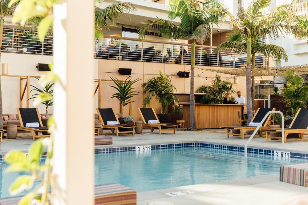 泳池/飯店/六月酒店/Hotel June/西區/洛杉磯/美國
