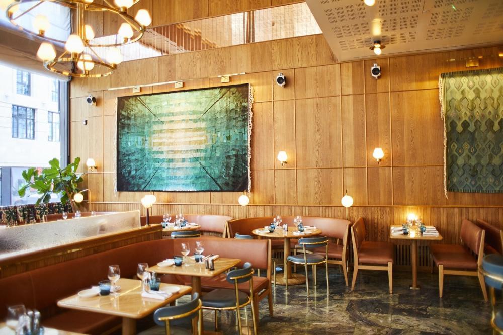 餐廳內部/北歐料理/Aquavit /美食/倫敦/英國