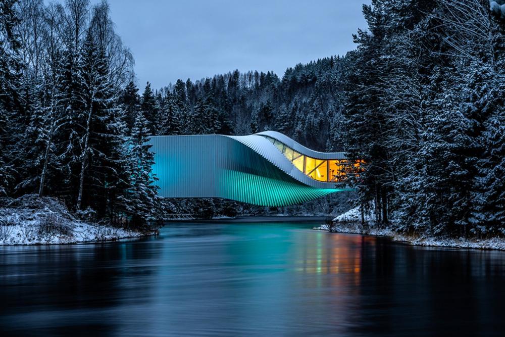 外觀/The Twist/美術館/耶夫奈克爾/挪威/歐洲