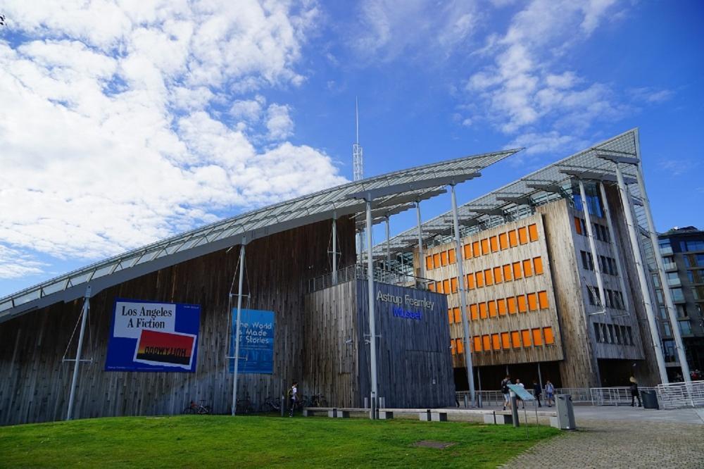 外觀/阿斯楚普費恩利現代藝術博物館/現代藝術/奧斯陸/挪威/歐洲