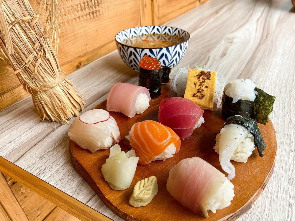 手毬壽司/漁米島•海鮮丼專賣店/日式料理/文青風/美食/大同區/台北/台灣