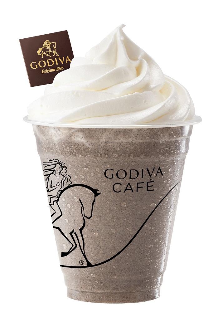 黑芝麻巧克力霜淇淋/黑芝麻奶昔/GODIVA/芝麻系列/台灣
