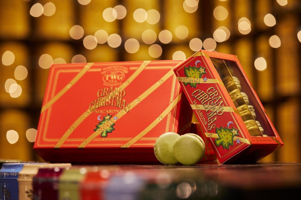 耶誕限定茶香馬卡龍/TWG TEA/華麗聖誕系列/限定節慶茗茶商品/台灣