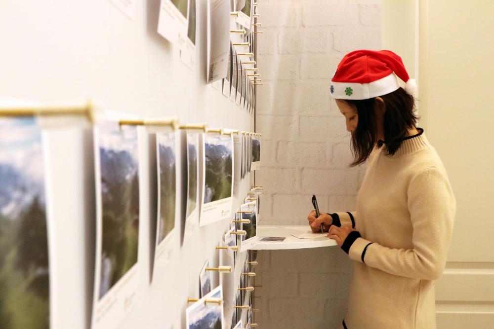 手寫聖誕卡/煙波大飯店/聖誕節/北歐家庭風/飯店/台灣