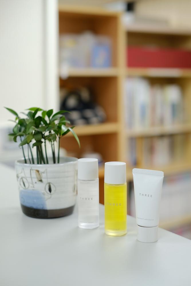 肌能旅行組/THREE/茶籽油/化妝品/日本