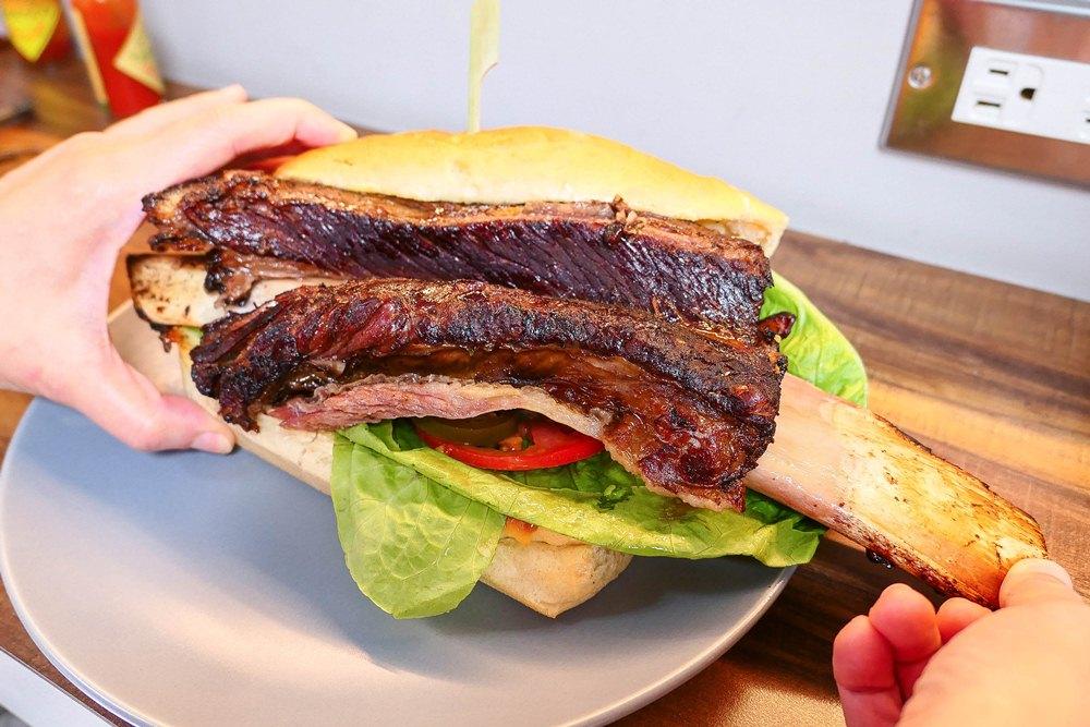 帶骨牛小排/Fa Burger/台北/台灣
