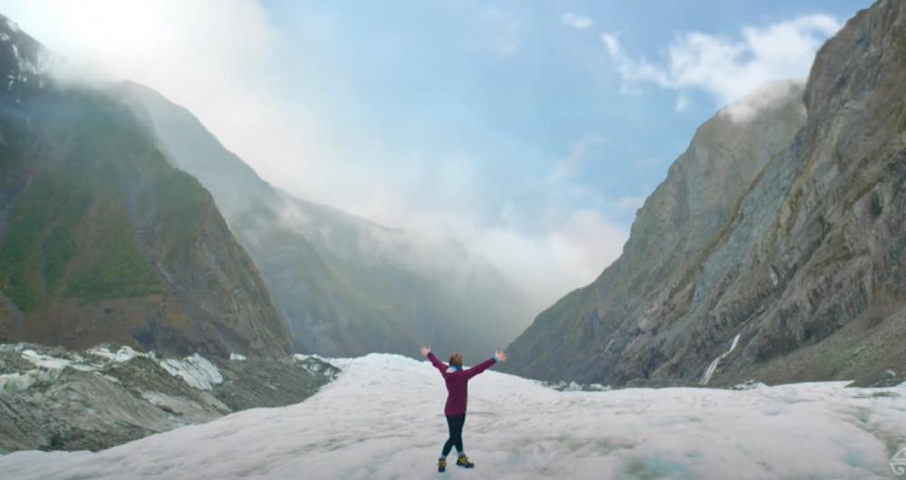 西岸冰河/世界第八奇景/Air New Zealand/紐西蘭