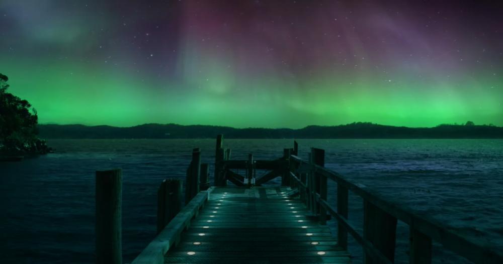 南極光勝地/世界第八奇景/Air New Zealand/紐西蘭