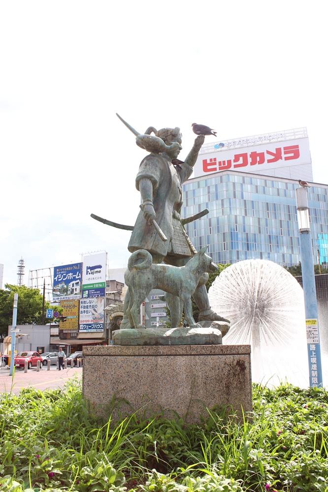 桃太郎標誌/岡山/日本