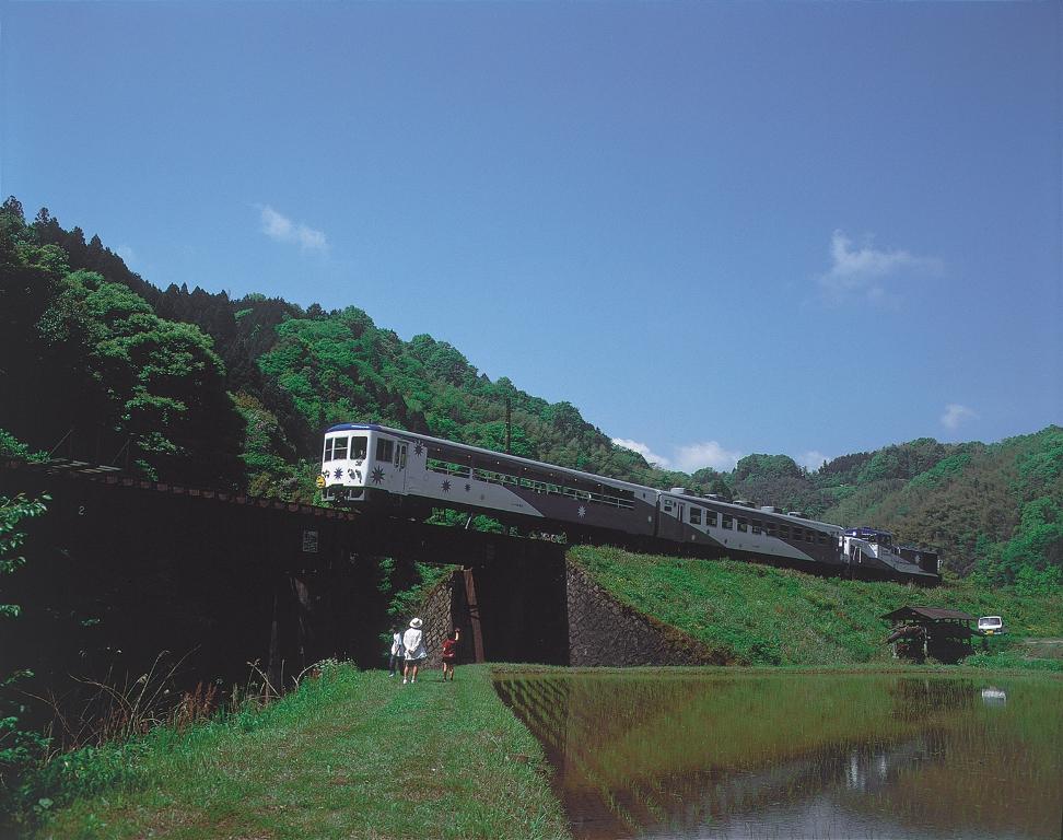 奥出雲おろち号列車/旅遊/島根/日本