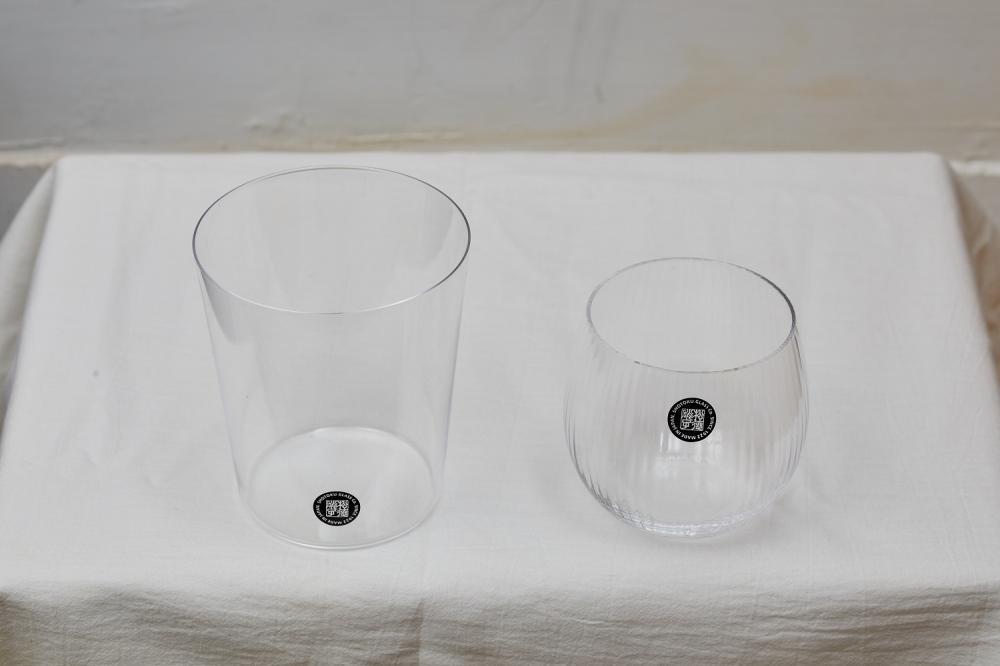 松德薄張系列:皺摺復刻款/松德KATACHI系列玻璃水杯/小器生活道具/日式小物/選物空間/台北/台