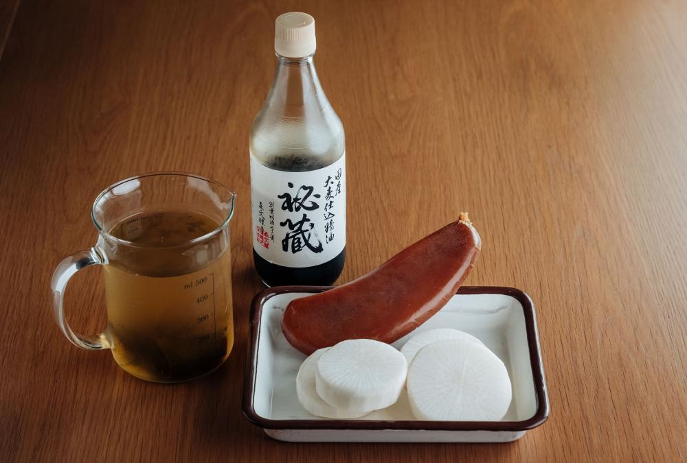 烏魚子高湯蘿蔔/下酒菜/美食/台灣