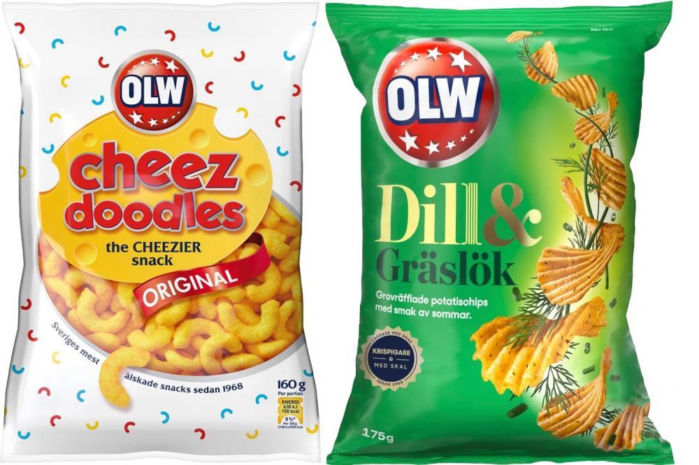 OLW Dill & Gräslök/瑞典洋芋片/IKEA JAPAN/冬季限定/日本