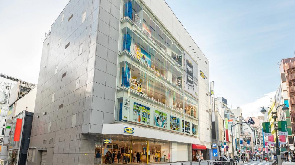 店外觀/IKEA JAPAN/涉谷/日本