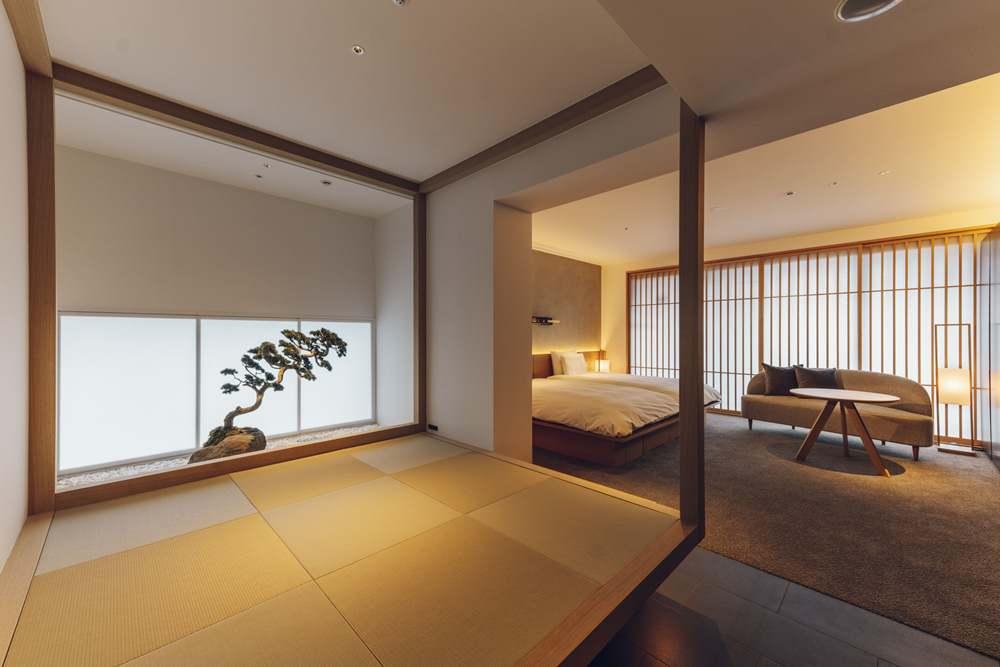 房間/nol kyoto sanjo/酒造改建/飯店/京都/日本