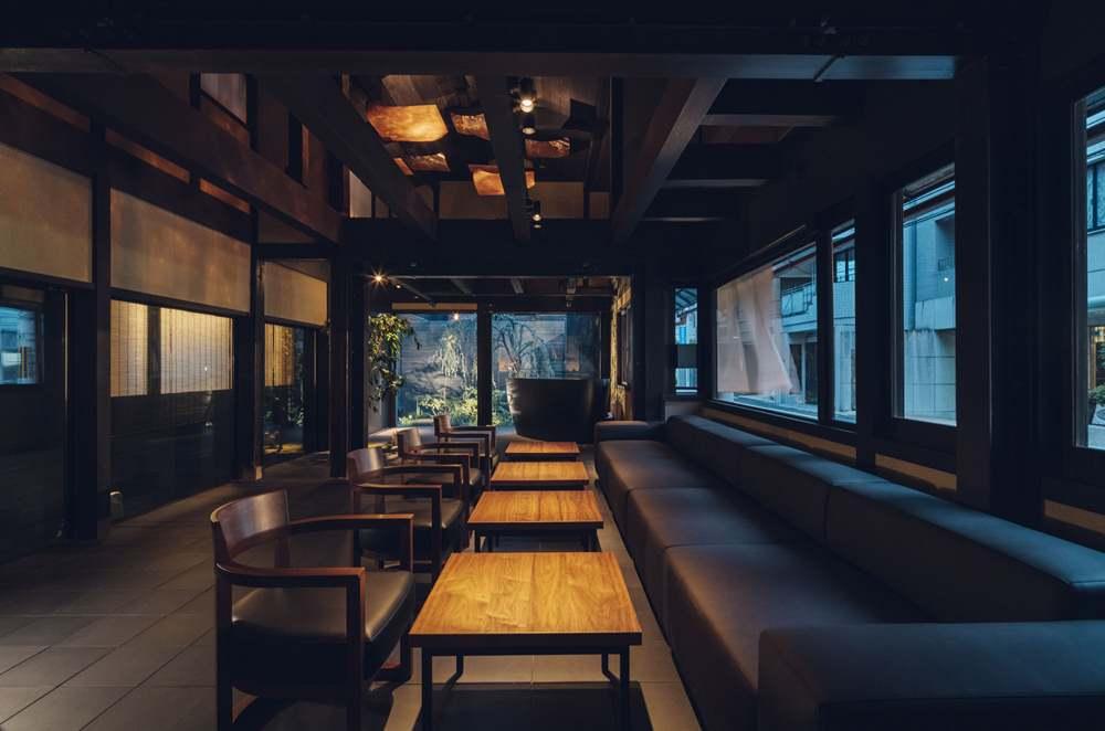 酒吧/nol kyoto sanjo/酒造改建/飯店/京都/日本