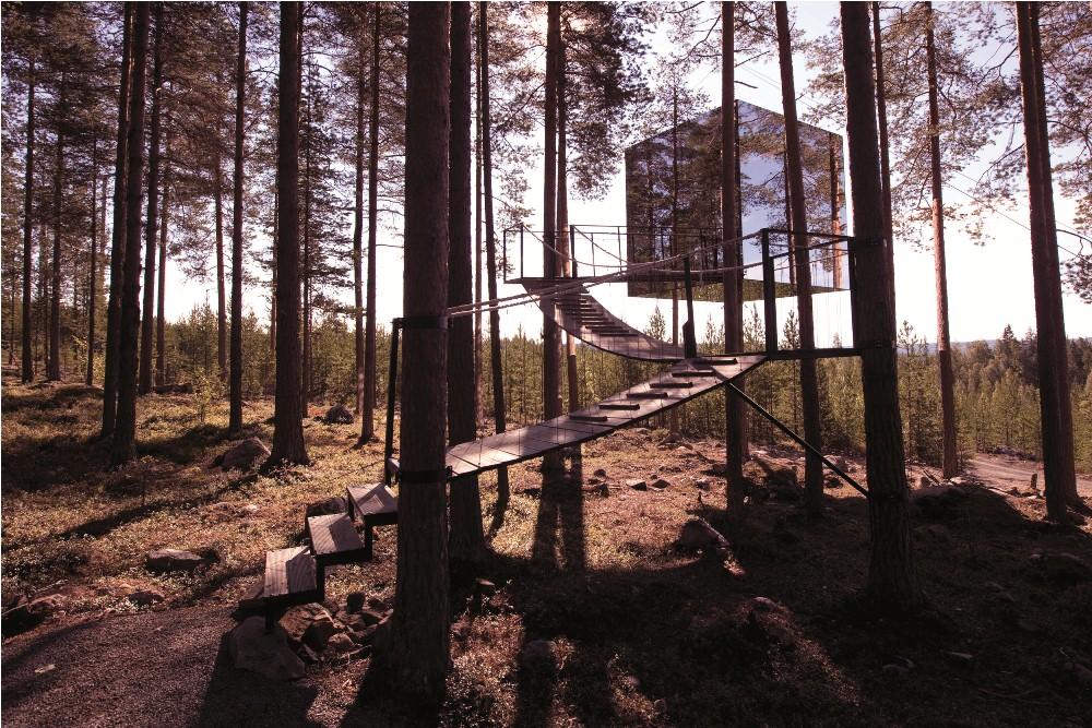 Treehotel/瑞典/旅遊/飯店/北極圈