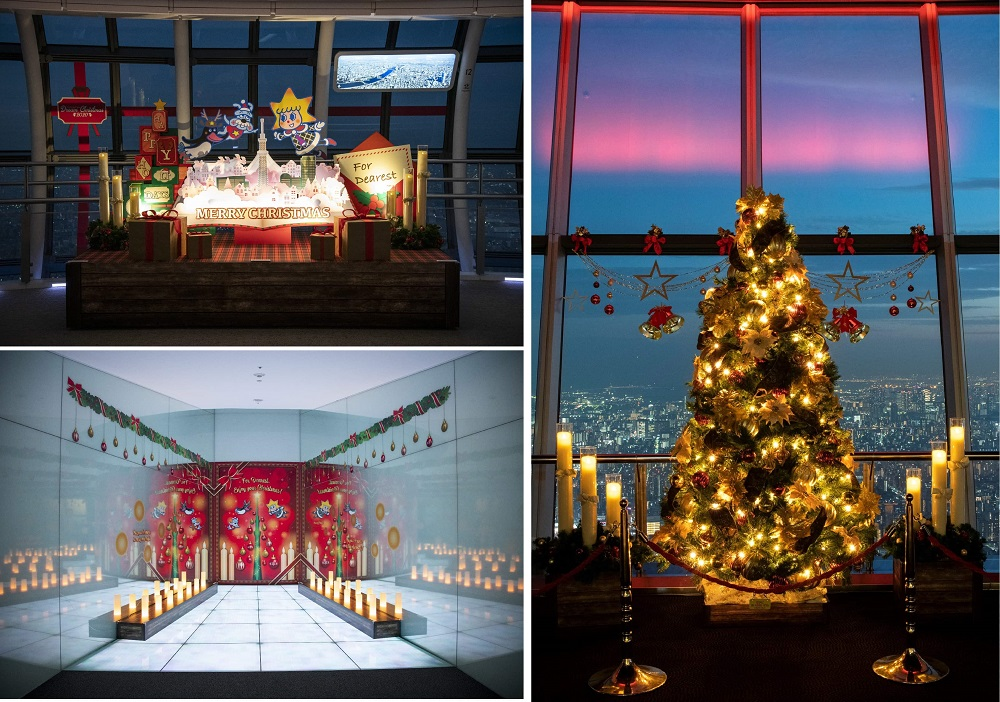 晴空塔/聖誕點燈/東京/日本