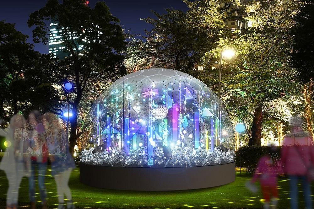 東京中城/聖誕點燈/東京/日本
